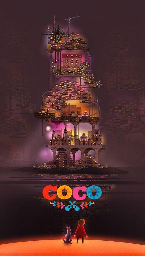 Coco Disney Pixar poster tribute, Cristhian Hova