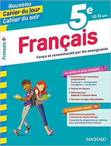 Francais 5e Collectif Livres Livres Scolaires Et