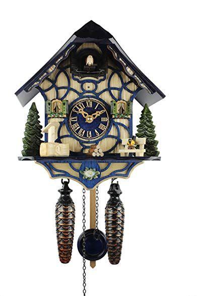 Herrzeit Quartz Cuckoo Clock Magic Blue Review Reloj Cucu