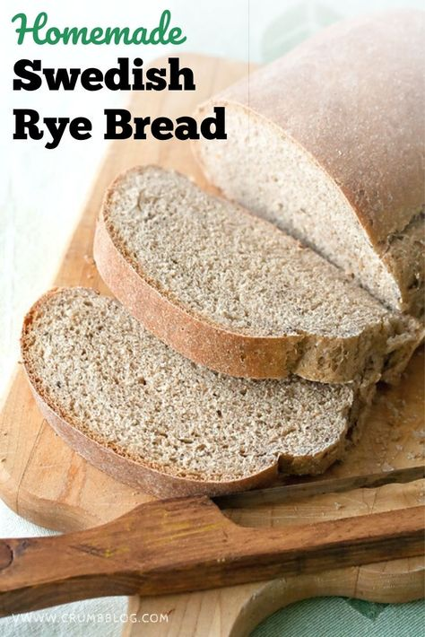 Try a Swedish spin on your homemade rye bread. Limpa is a soft rye bread perfumed with orange, fennel and caraway seed that's perfect for pairing with your favourite marmalade, or slice up thick and lightly toast for delicious sandwiches.