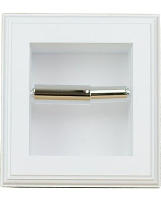 Wg Woodproducts Layton Recessed Toilet Paper Holder White From Houzz Bhg Com Shop Bathroom Recessed Toilet Paper Holder Toilet Paper Roll Toilet Paper
