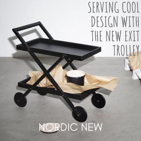 Salontafel Zweeds Design.Prachtige En Ranke Design Trolley Van Gunilla Allard Voor Het