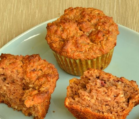 Muffins from the leftover juice pulp.