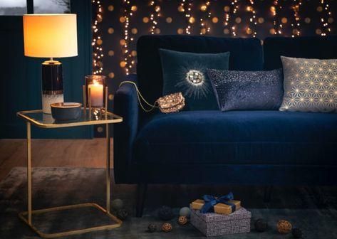 Divani In Pelle Blu.5 Colori Per La Casa Autunno Inverno 2018 Divano Velluto Divani