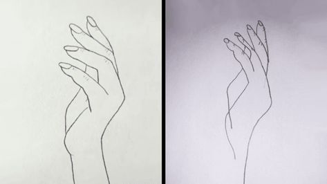 I spent an entire day trying to do that viral hand drawing