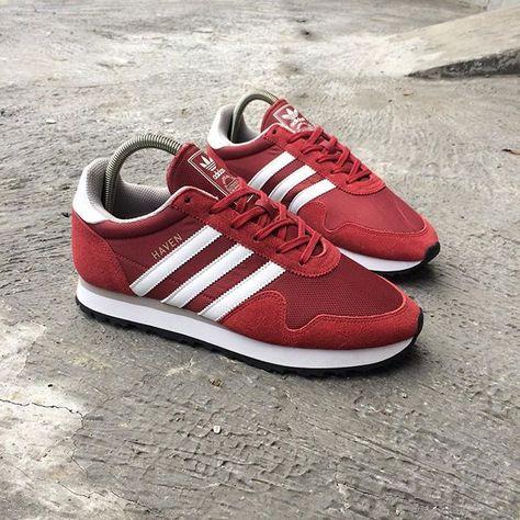 lowest price ec8b0 43272 adidas Originals Haven Red