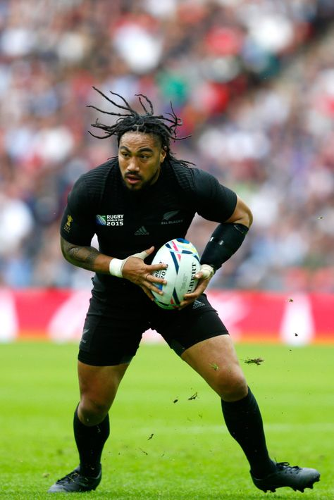 Ma'a Nonu Photos Photos - Maa Nonu of the All Blacks during the 2015 Rugby World Cup Pool C match between New Zealand and Argentina at Wembley Stadium on September 2015 in London, United Kingdom. - New Zealand v Argentina - Group C: Rugby World Cup 2015