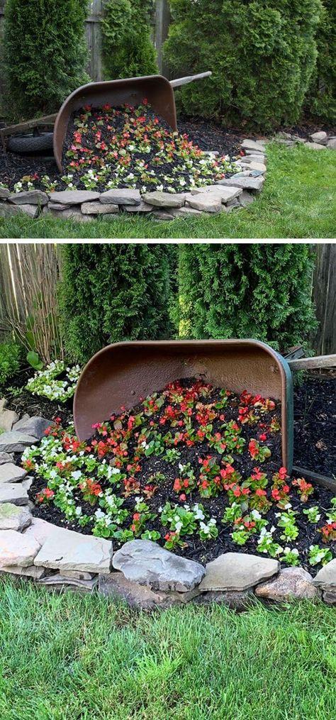 30+ Awesome DIY Wheelbarrow Planter Ideas & Projects For Your Garden