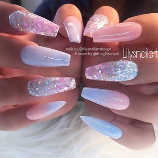 100 Beautiful And Unique Trendy Nail Art Designs Adorable Pastel Nail Ideas Easy On The Eyes Pastel Blue Nail Polish I Pretty Nail Art Designs Nails Gel Nails