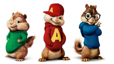 Alvin And The Chipmunks The Road Chip Birthday Cake Toppers