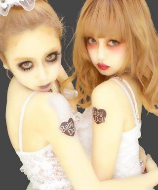 Kawaii Halloween, Halloween Make, Edgy Makeup, Makeup Inspo, Kawaii Goth, Japanese Aesthetic, Manga Covers, Body Poses, Gyaru