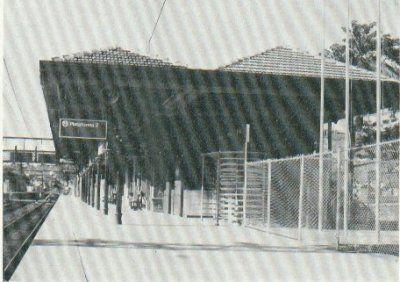 Estação Jaraguá. Foto provavelmente do final da década de 1970.