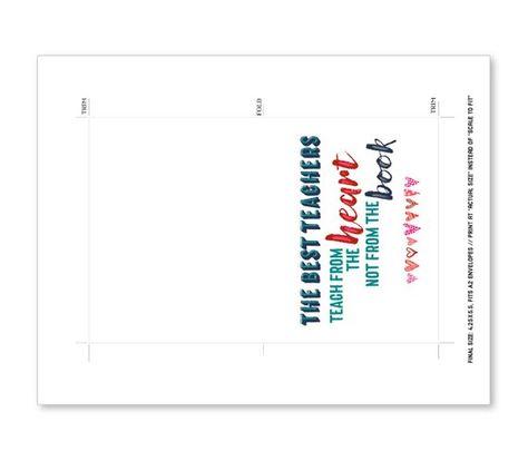 School Teacher Quotes Printable Card Bundle, Teacher