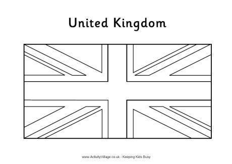 How To Make An Apple Pie And See The World United Kingdom Flag Coloring Page How To Make An Apple Pie In 2020 Flag Coloring Pages Flag Printable Britain Flag