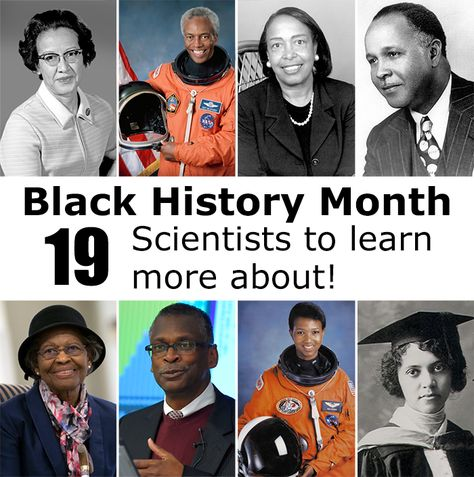 Learn More About these 28 Scientists for Black History Month | Science Buddies Blog