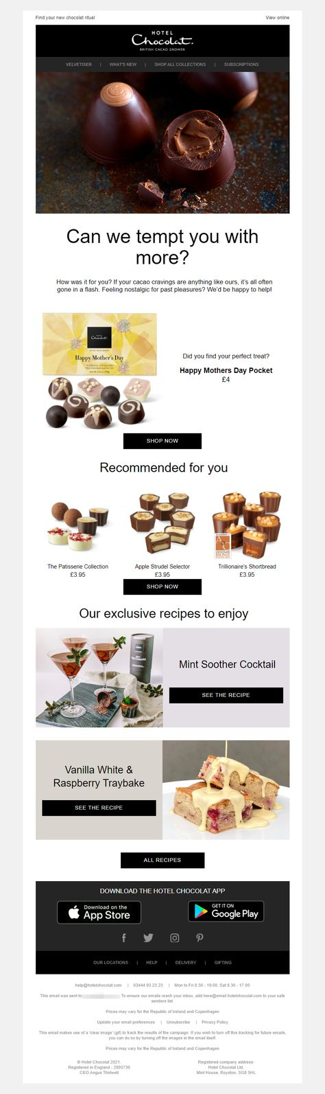Luxury Chocolates and Chocolate Gifts