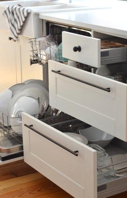 Smart Kitchen Design Dishwasher Right Next To The Sink Then