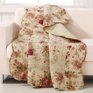Waverly Norfolk Reversible Quilt Set Reviews Wayfair In 2020 Shabby Chic Quilts Greenland Home Fashions Cotton Quilt Set