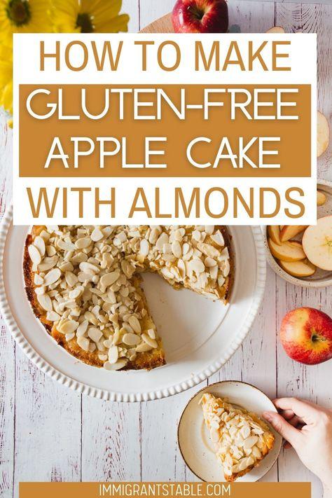 Easy Gluten-free apple cake recipe