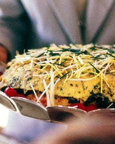 Layered Spring Omelet