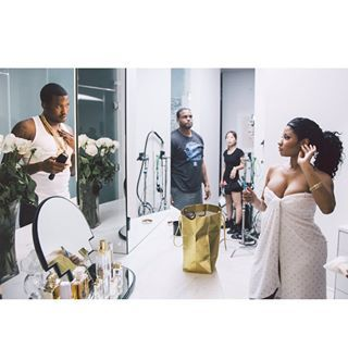 And it looked like they barely needed to act at all. | 26 Times Nicki Minaj And Meek Mill Redefined Relationship Goals