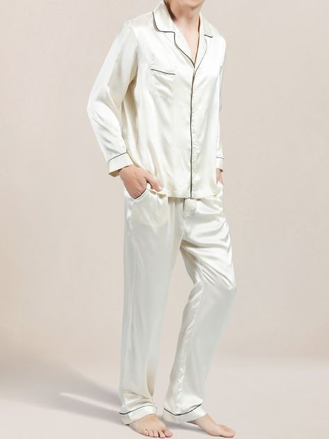 Luxury Silk Pajamas for Men