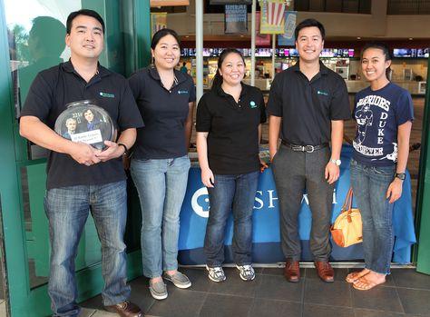 PBS Hawaii's fundraising team #sherlockHI