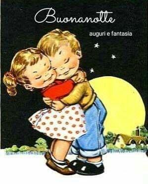 Buonanotte Illustrazioni Vintage Buonanotte Illustrazioni