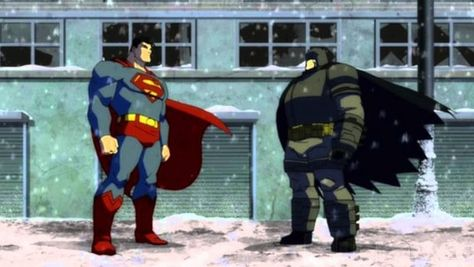 caricaturas batman vs superman pelicula