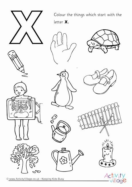 My A To Z Coloring Book Letter X Coloring Page Alphabet Coloring Pages Alphabet Coloring Abc Coloring