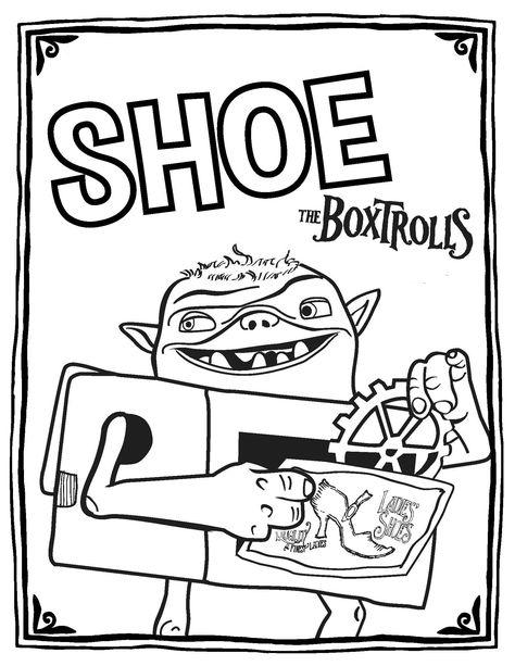 Boxtrolls 7 Ausmalbilder Fur Kinder Malvorlagen Zum Ausdrucken