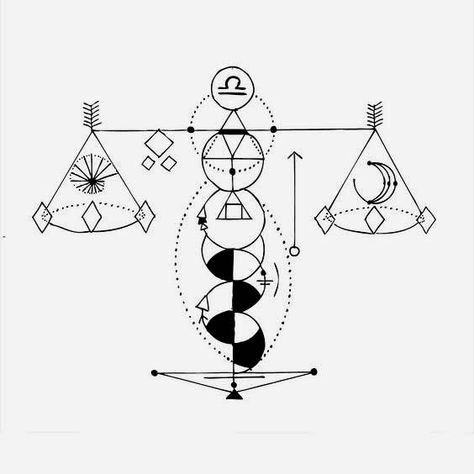 The Libra is my third release out of the geometric zodiac tattoo series. Geometric tattoos are simple, timeless and for everyone. My Portfolio: > Geometric Tattoos Wanna have it as a shirt or s…