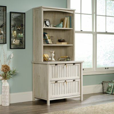 Amazon Com Modern Two Drawer Lateral File Cabinet White Lacquer Office Products Filing Cabinet Lateral File Cabinet Office Furniture Modern