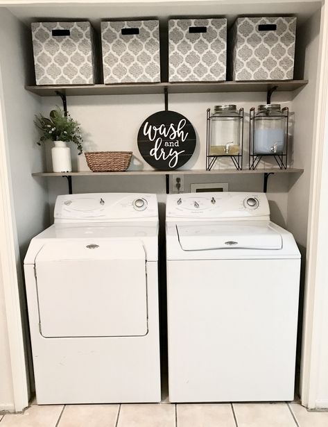 27 Laundry Room Decorating Ideas To Help Organize Space