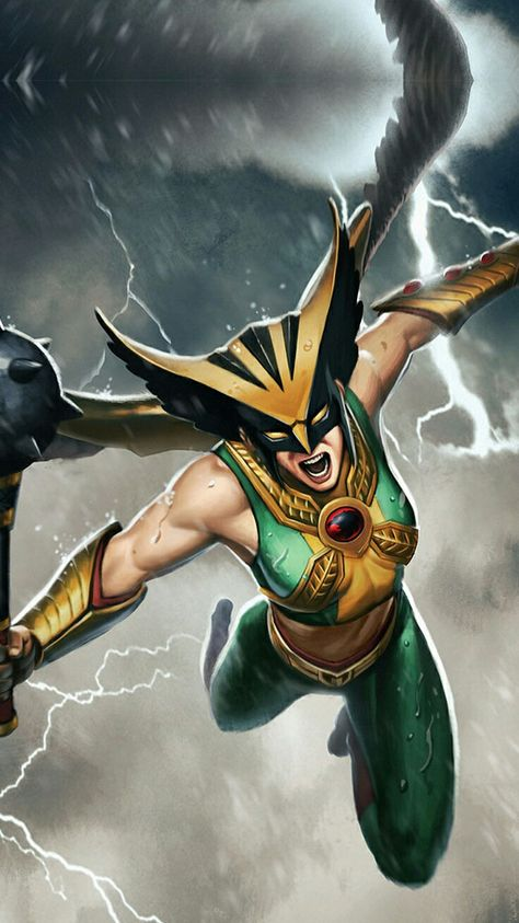 Hawkgirl - Visit to grab an amazing super hero shirt now on sale!
