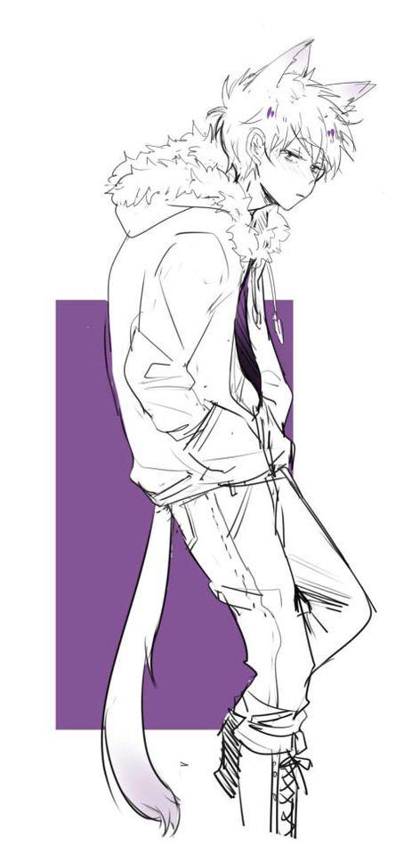 Dont Forget To Follow Me Mint Anime Neko Cute Anime Guys Cute Anime Boy