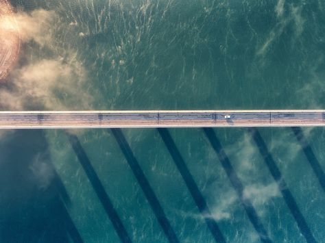 Bridge Suspension Bridge Architecture Aerial View Wallpaper Aerial View Hd K K Wallpapers Pinterest Bridge