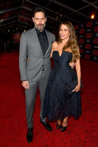 Joe Manganiello and Sofia Vergara attend the premiere of Disney Pictures and Lucasfilm's 'Star Wars: The Last Jedi.'