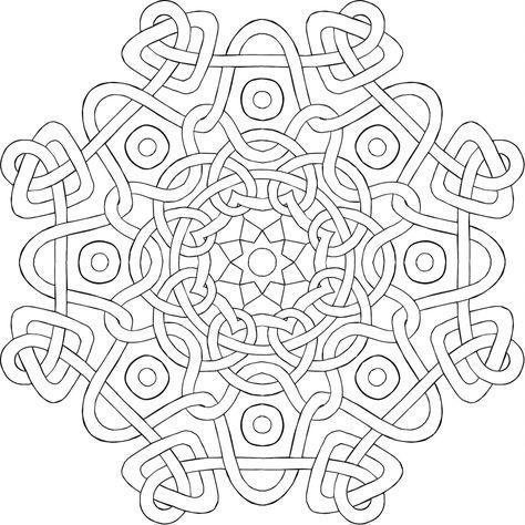 Mandala Coloring Lebanon Background