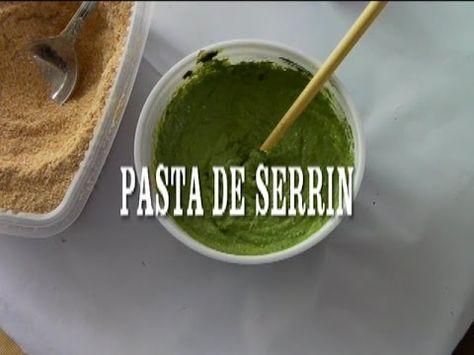 DIY PASTA DE SERRIN,PARA RELIEVES