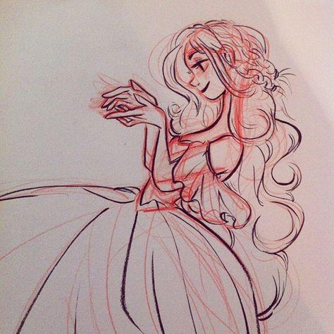Inky princess lady! Gotta get back into it!