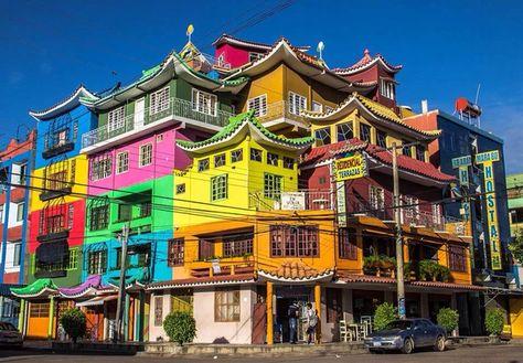 Hostal Marabú, Santa Cruz de la Sierra, Bolivia — by Bastien Poux. Chinese bolivian style hotel