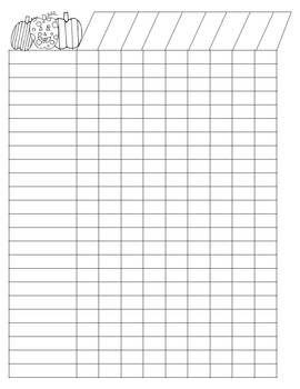 Blank Class List Template    Class Roster HttpWwwFarben