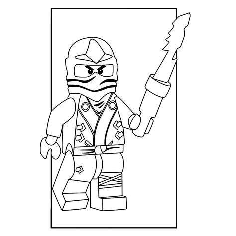 Lego Ninjago Kleurplaten.Pinterest Pinterest