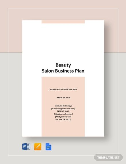 Instantly Download Beauty Salon Business Plan Template Sample Example In Microsoft Word Salon Business Plan Beauty Salon Business Plan Hair Salon Price List