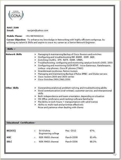 voice engineer resume  best resume examples
