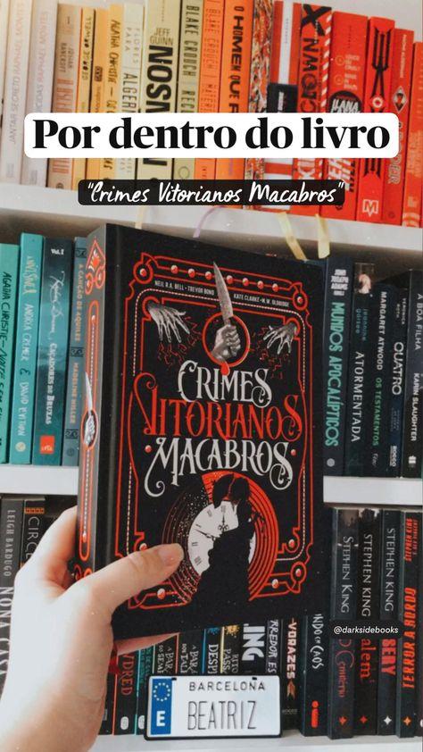 """Por dentro do livro """"Crimes Vitorianos Macabros"""""""