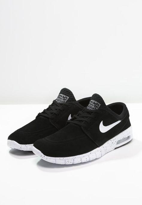 brand new 8596b f6bf1 Nike SB STEFAN JANOSKI MAX - Baskets basses - black white - ZALANDO.BE