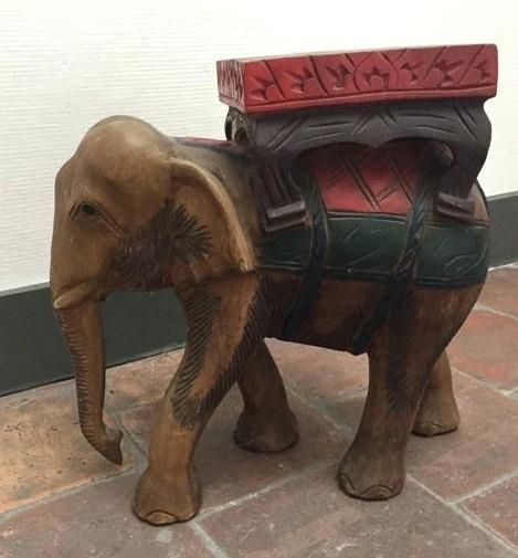 Elegant Elephant End Table Images Inspirational Elephant End Table For Painted Thai Elephant Carved Wood End Table 20th Century Thailand 25 Baby Elephant Table
