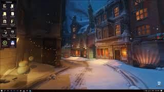 Overwatch Kings Row Christmas Live Wallpaper In 2019